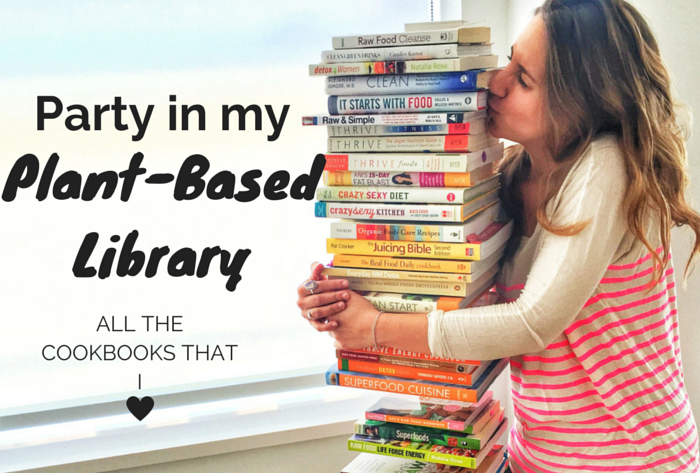 Party in my plant based library all the cookbooks that i love all the cookbooks that i love forumfinder Gallery