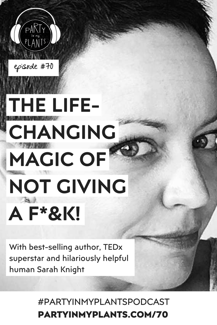 sarah knight author / The Life-Changing Magic of Not Giving a fuck